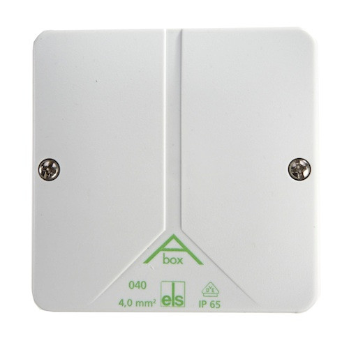 Junction box without clamps and cable aBox 040