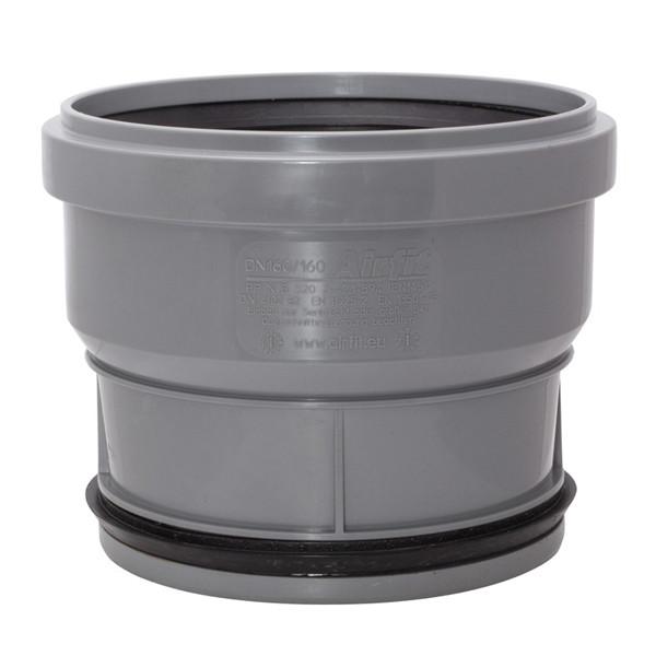 PP plug-in socket DN 160x160