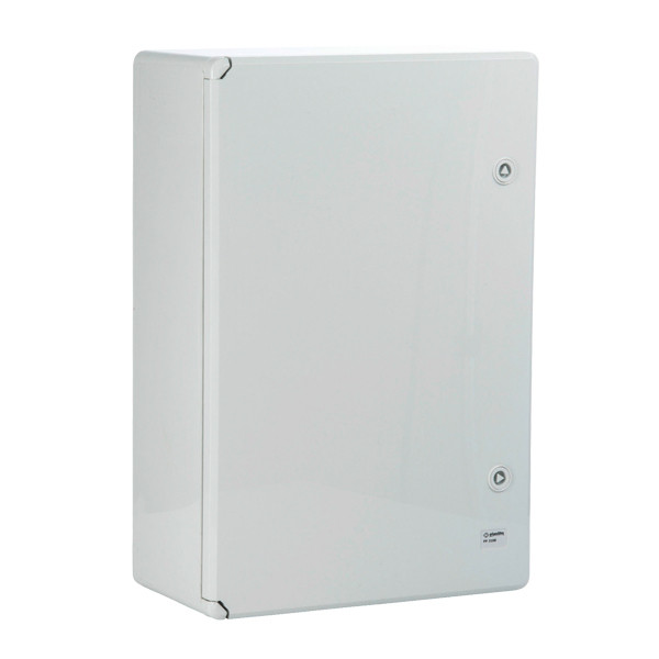 Plastic control cabinet 400 x 300 x 170 mm