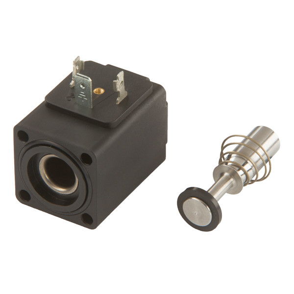 Solenoid valve with plunger/spring 2/2, DN 13, V2