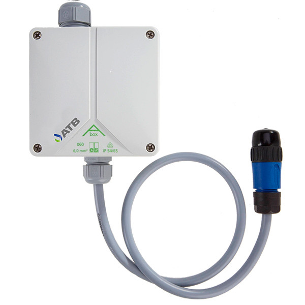 aBox adapter with ready-to-plug-in control line/terminal strip