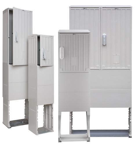 Open air column grey OSZ 26 x 40