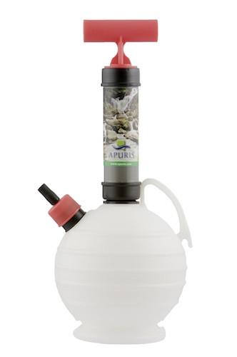 Professional sampling pump container volume 2 l