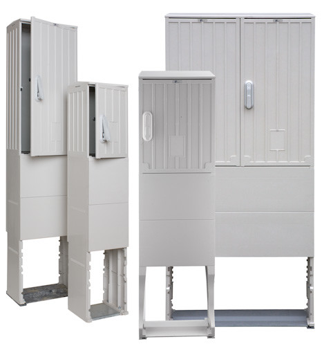 Open air column grey OSZ 40 x 50