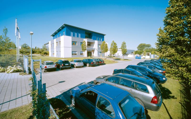 Firmengebäude des Hauptsitzes in Porta Westfalica