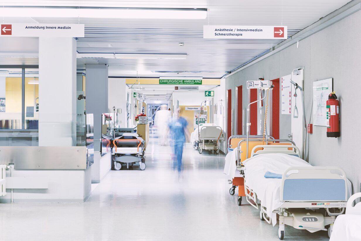 Pflegeheime und Krankenhäuser