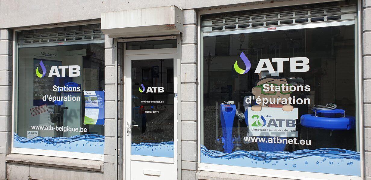 ATB Büro in Belgien