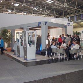 Erste Teilnahme an der IFAT Messe in München im Jahr 2002