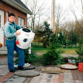 Erster eingebauter AQUAmax® S 1998 in Dorf Mecklenburg