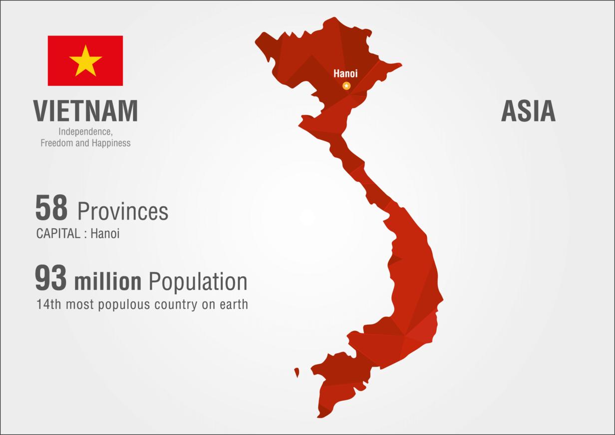 Daten über Vietnam