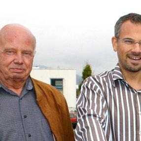 Die beiden Gründer