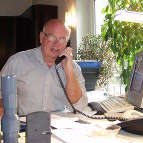 Büro in Borlefzen mit einem der Gründer