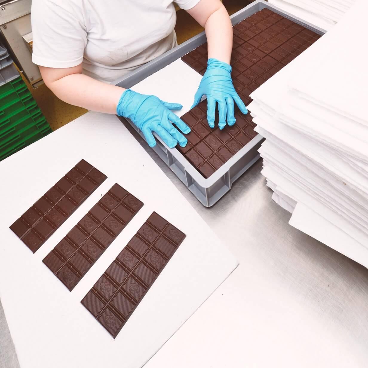 Schokoladen- und Süßwarenproduktion