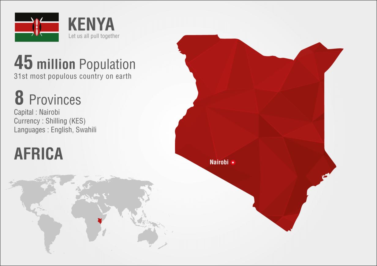 Daten über Kenia
