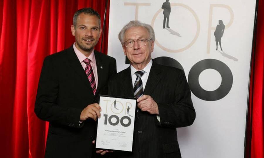 ATB unter den innovativen Top 100 - Markus Baumann mit Jury