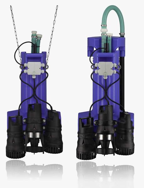 Unsere blaue Kleinkläranlage - AQUAmax CLASSIC