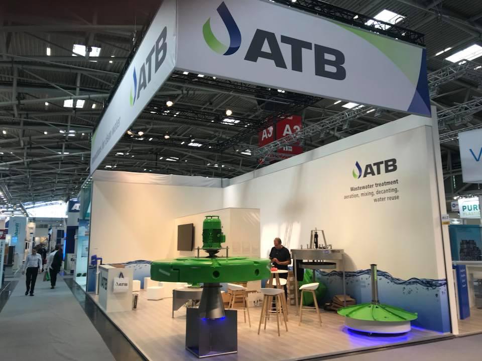 ATB WATER auf der IFAT 2018 in München